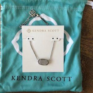 Kendra Scott Elisa Pendant Necklace SILVER